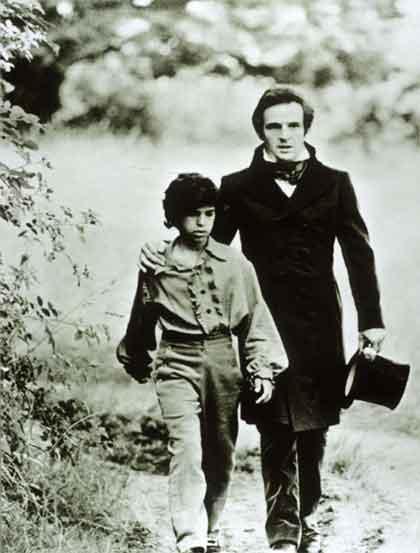Victor, dans le film inspiré de cas d'enfant sauvage